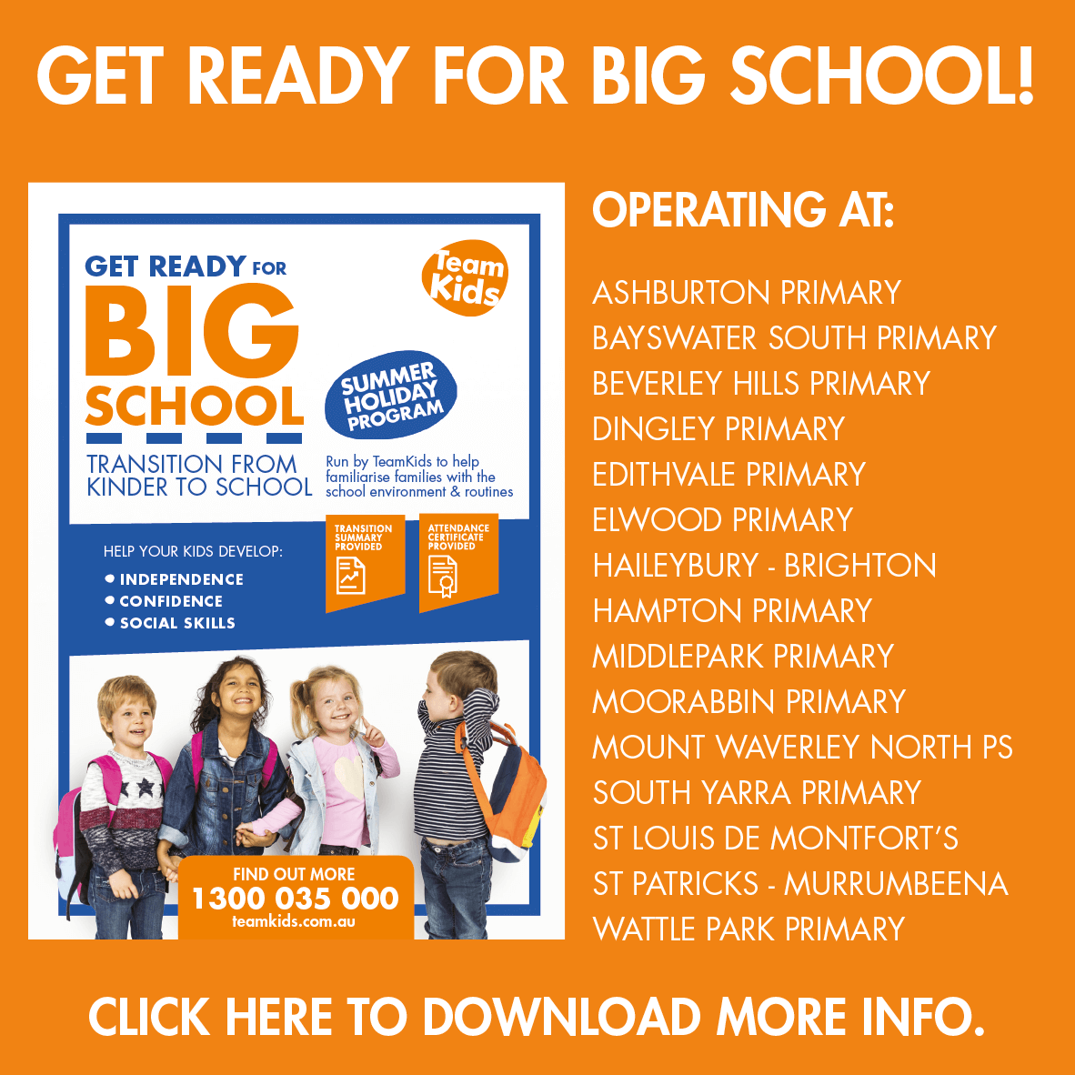 Get Ready For Big School