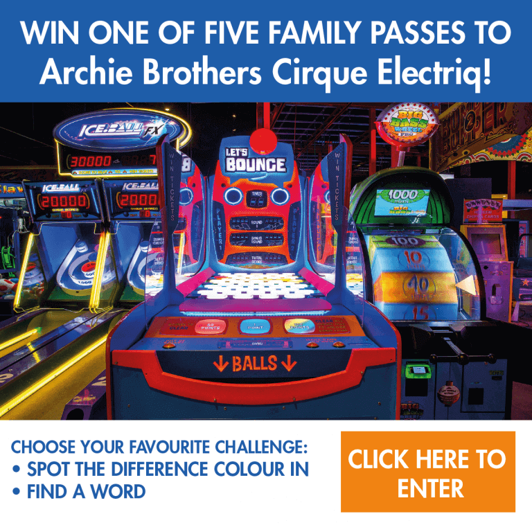 Win One Of Five Family Passes To Archie Brothers Cirque Electriq!