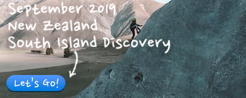 September 2019 - New Zealand South Island Discovery Camp