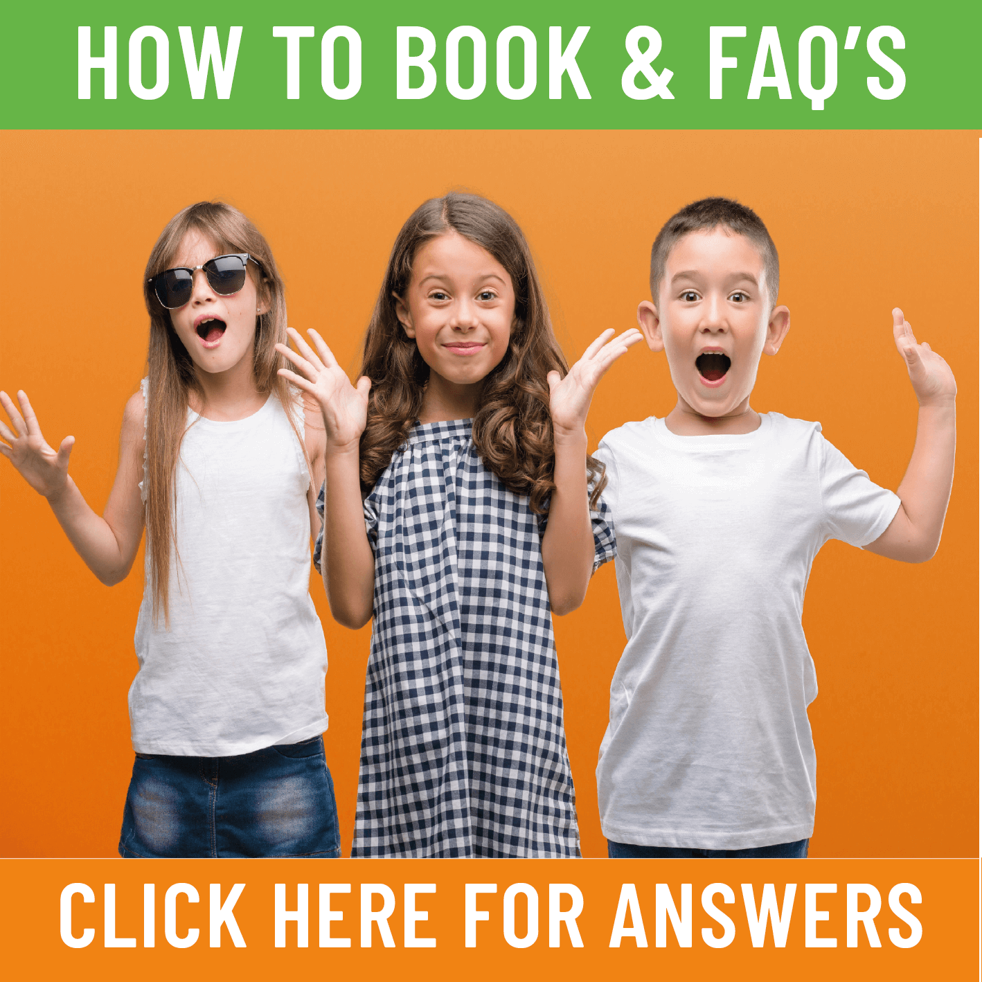 How to Book & FAQs